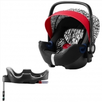 Britax Roemer Baby-Safe2 i-Size+ база Flex, Letter Design