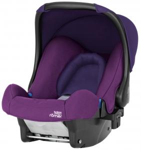 Britax Roemer BABY-SAFE plus, Mineral Purple. Детская люлька переноска, группа 0+ (0 - 13 кг) купить в СПб.