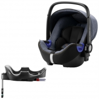 Britax Roemer Baby-Safe i-Size+ база Flex, Blue Marble