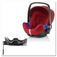 Britax Roemer Baby-Safe i-Size+ база Flex, Flame Red
