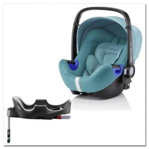 Britax Roemer Baby-Safe i-Size+ база Flex, Lagoon Green