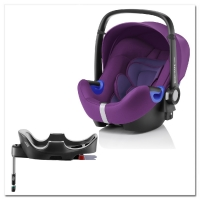 Britax Roemer Baby-Safe i-Size+ база Flex, Mineral Purple