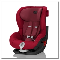 Britax Roemer KING II, Flame Red, Black Series