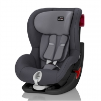 Britax Roemer KING II, Storm Grey, Black Series