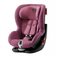 Britax Roemer KING II, Wine Rose, Black Series