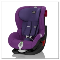 Britax Roemer KING II LS, Mineral Purple, Black Series