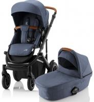 Детская коляска 2-в-1 Britax Roemer Smile III, Indigo Blue