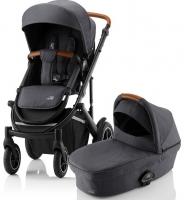 Детская коляска 2-в-1 Britax Roemer Smile III, Midnight Grey