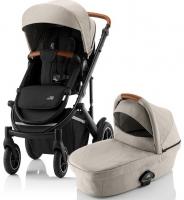 Детская коляска 2-в-1 Britax Roemer Smile III, Pure Beige/Black