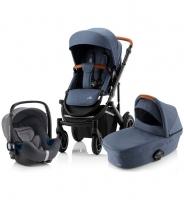 Детская коляска 3-в-1 Britax Roemer Smile III, Indigo Blue