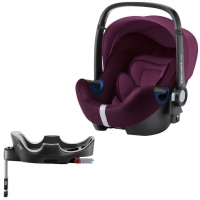 Britax Roemer Baby-Safe2 i-Size+ база Flex, Burgundy Red