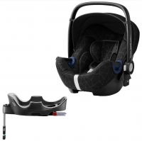 Britax Roemer Baby-Safe2 i-Size+ база Flex, Crystal Black
