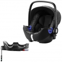 Britax Roemer Baby-Safe i-Size+ база Flex, Mystic Black