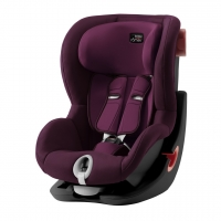 Britax Roemer KING II, Burgundy Red, Black Series