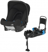 Britax Roemer BABY-SAFE+ belted Base, Cosmos Black